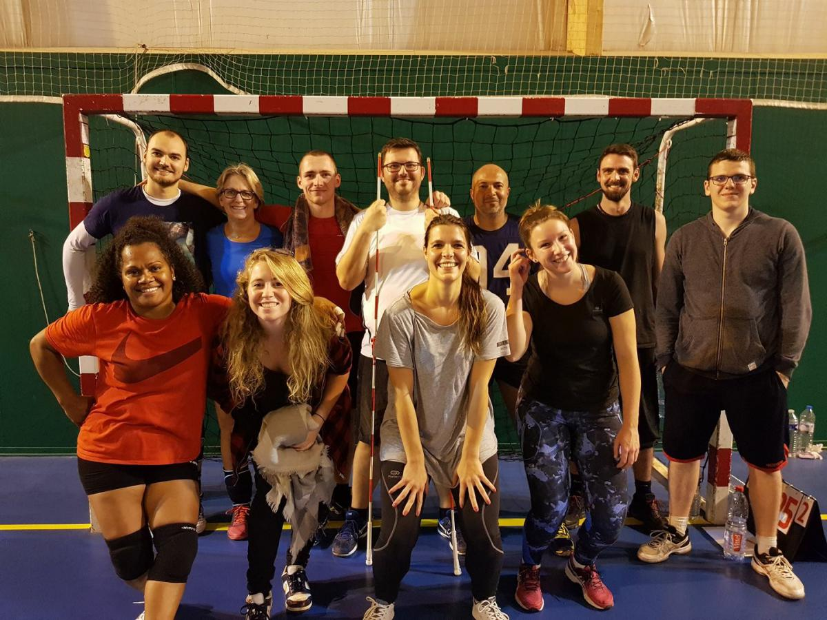 Les Frappés Briards - SPORTING CLUB BRIARD VOLLEY BALL