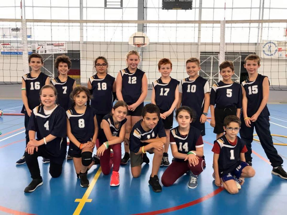 Ecole de Volley - SPORTING CLUB BRIARD VOLLEY BALL