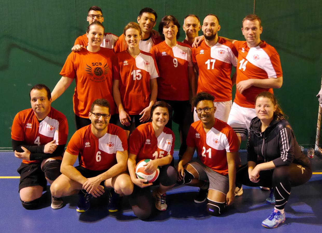 Les Givrés Briards - SPORTING CLUB BRIARD VOLLEY BALL